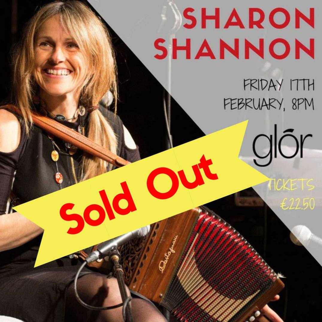SON supports- Sharon Shannon